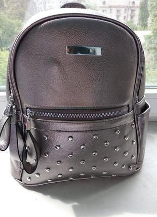 Бронзовый городской рюкзак