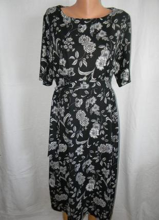 Красивое платье с принтом большого размера next