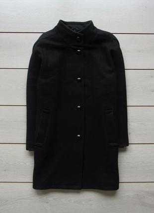 Акция!пальто шерсть прямого кроя бойфренд с свободными рукавам...