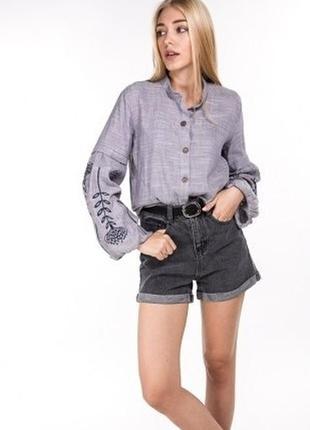 Вышитая блуза сорочка рубашка вишиванка вышиванка