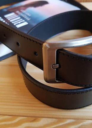 Классический мужской кожаный ремень из итальянской кожи