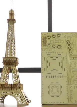 Деревянный конструктор Эйфелева башня