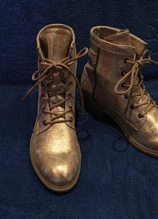 Ботинки *maca* кожа германия р.39 ( 25.50 см)