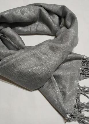 Блестящий шарф* шарф* скидка 10%