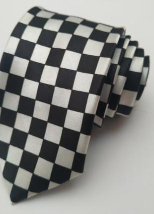 Галстук мужской в клетку*галстук