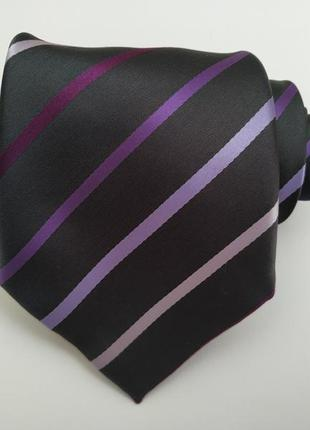 Мужской галстук в полоску*галстук*мужской галстук