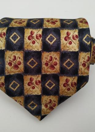 Мужской галстук в принт*мужской галстук*широкий галстук