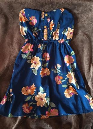 Блуза топ в цветочный принт
