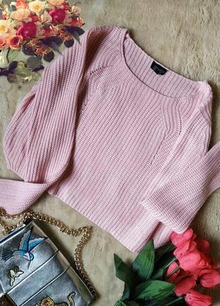 Трендовый укороченный свитерок от topshop topshop
