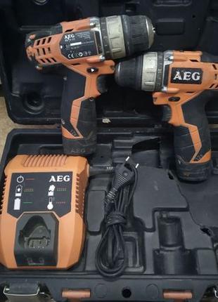 Аккумуляторный дрель-шуруповёрт AEG BS 12C2