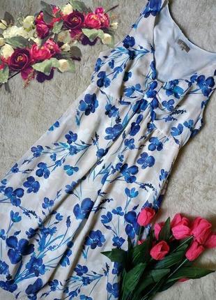Трендовое платье в цветы от бренда soon