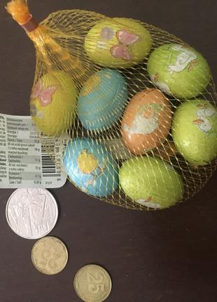 Шоколадные пасхальные яйца и кролики