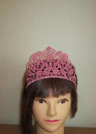 """Аксессуар для волос """"корона"""". обруч для волос."""