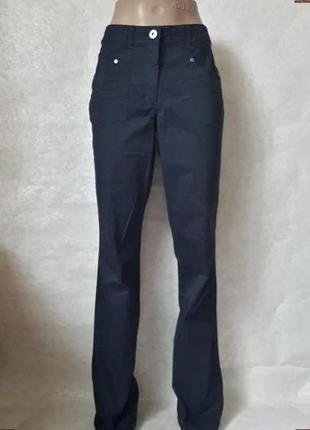 Новые с биркой брюки/штаны/джинсы сдержаного синего цвета, раз...