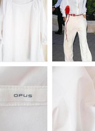 Современная блуза с акцентными рукавами из хлопка!