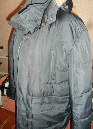 Куртка достойного качества большого размера 54-56