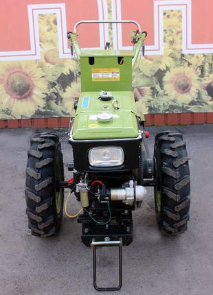 Мотоблок дизельный Зубр JR-Q78 Е 8 л.с. с электростартером