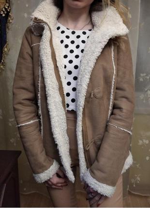 Дубленка женская, теплая куртка, дубленка ostin, очень теплая ...