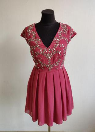 Распродажа до 30 июня 🔥  коктельное платье с короткими рукавам...