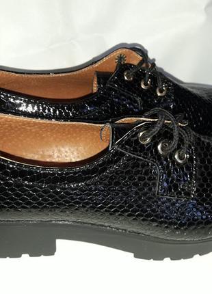 Женские туфли на широкой подошве r&y