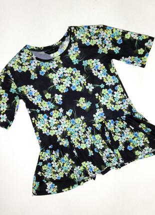 Блуза с баской dorothy perkins р-uk-8 можно и на 10/12
