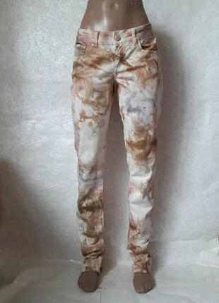 Новые с биркой оригинальные джинсы в варёную абстракцию, разме...