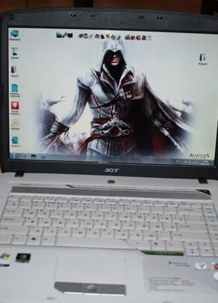 Ноутбук Acer Aspire 5520G (в отличном состоянии).