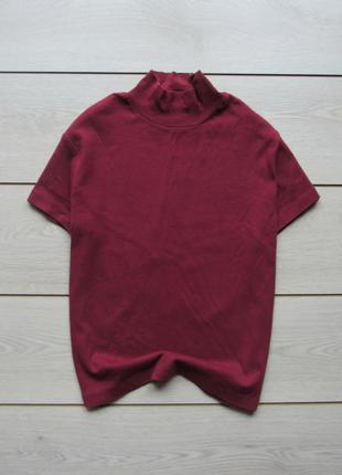 Хлопковая футболка с горлом от biaggini