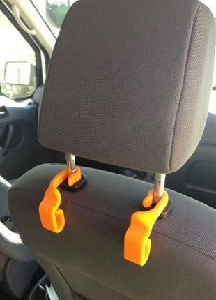 Автомобильный крючок, вешалка для пакетов, органайзер а машину...