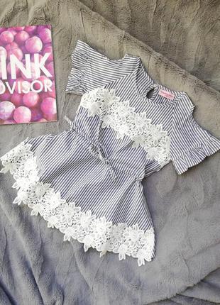 Летний детский сарафан, летнее платье для девочки