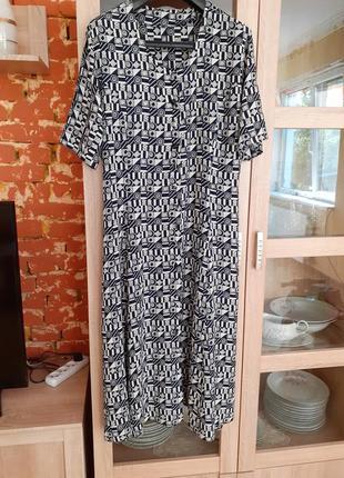 Супер  платье рубашка большого размера