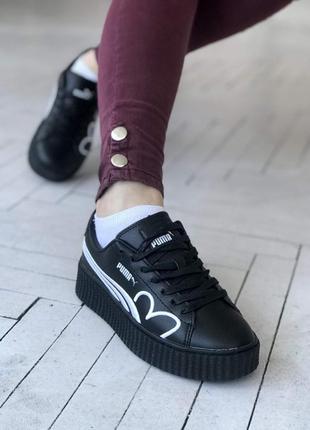 Puma fenty  🔺женские кроссовки пума фенти черные