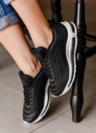 Nike 97 swarovski black 🔺женские кроссовки найк еир макс