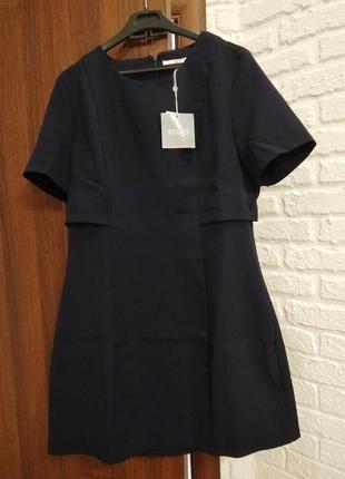 Комбинированное платье от asos missguided