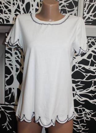 Трикотажная футболка dorothy perkins в идеальном состоянии  м