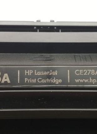 Картридж HP 78A (CE278A) первопроход, заправленый, новый фотовал