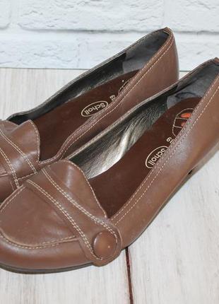 Sale!кожаные туфли sсholl всего за 200 грн