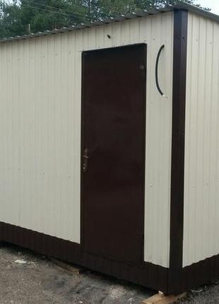 Бытовки, пост охраны, мини офисы от производителя с доставкой
