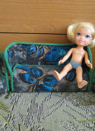 кукла Золушка с мебелью