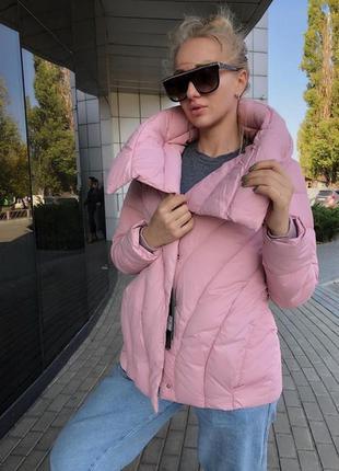 Куртка евро зима большой воротник