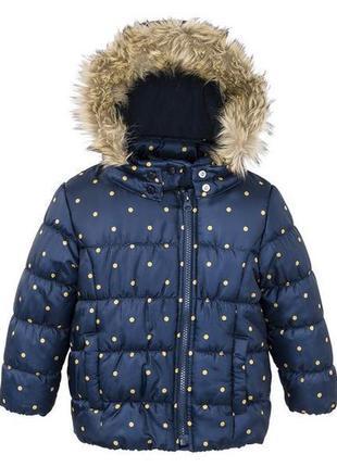 Куртка для девочки lupilu by cherokee германия р.104 на 3-4 года