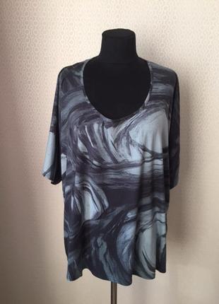 Комфортная футболка большого размера (xl, но подойдёт до xxxl)...