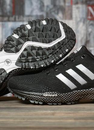 Женские кроссовки адидас adidas черные