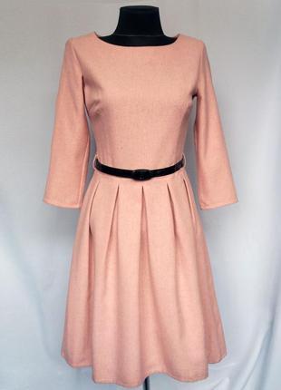 Суперцена. стильное платье. натуральная шерсть. новое, р. 42-44