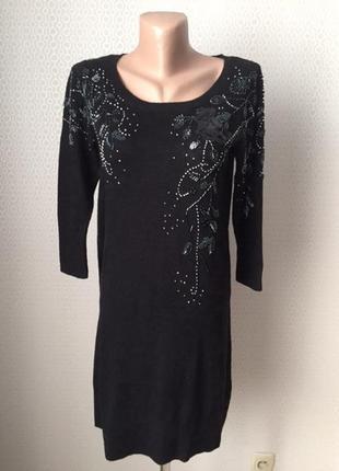 Нарядное теплое платье от добротного английского бренда monsoo...