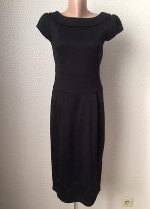 Нарядное теплое платье размер евр 36, укр 42-44 (возможно 46) ...