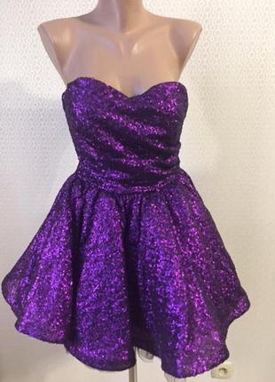 Новогоднее нарядное выпускное платье goddess london,размер при...