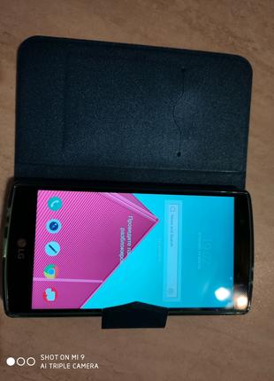 Чехол книжка на смартфон LG G4