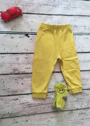 Желтые штаны waikiki носки