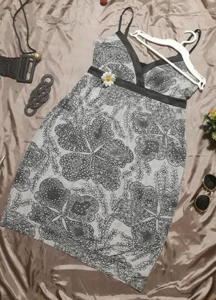Фирменный сарафан из натуральной ткани